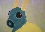 Rabbit Island (Detail) by Ashley Clark