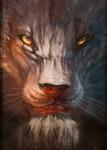 I AM (Lion Detail)