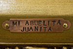 Mi Abuelita Juanita Title Plate by Ann Margaret Bell