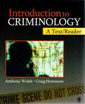 Introduction to Criminology: A Text/Reader by Anthony Walsh and Craig Hemmens