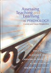 Assessing Teaching and Learning in Psychology: Current and Future Perspectives