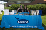 Boise Public Library Booth
