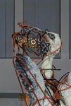 The Conductor (detail) by Kelly F. Cox