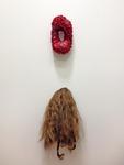 Hole and Hair, Installation Detail by Rachel Lambert