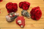 Fur Bodies, Installation Detail by Rachel Lambert